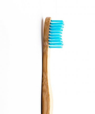 THE HUMBLE CO. BAMBOO TOOTHBRUSH – ADULT / BLUE