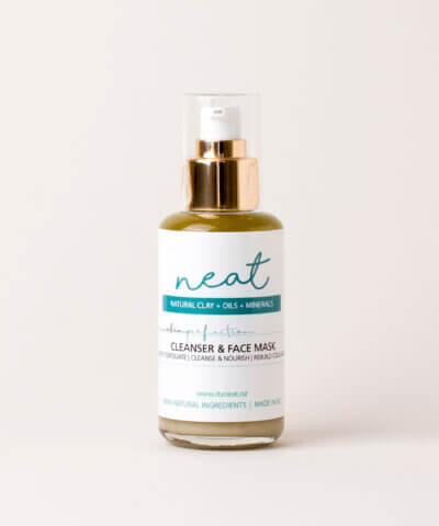 NEAT NATURAL PRODUCTS – SKINPERFECTION DAILY MINERAL CLEANSER, MASK & MAKEUP REMOVER