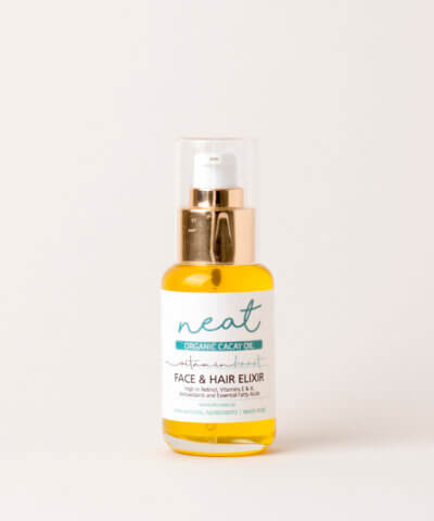NEAT NATURAL PRODUCTS – ORGANIC CACAY FACE & HAIR OIL