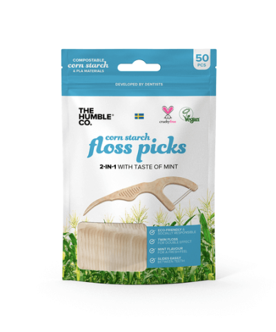 THE HUMBLE CO. COMPOSTABLE FLOSS PICKS