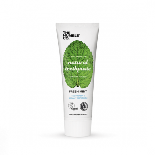 THE HUMBLE CO. VEGAN TOOTHPASTE *WITH SODIUM FLUORIDE* – FRESH MINT