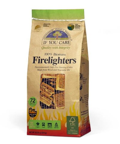 IF YOU CARE NON-TOXIC FIRELIGHTERS