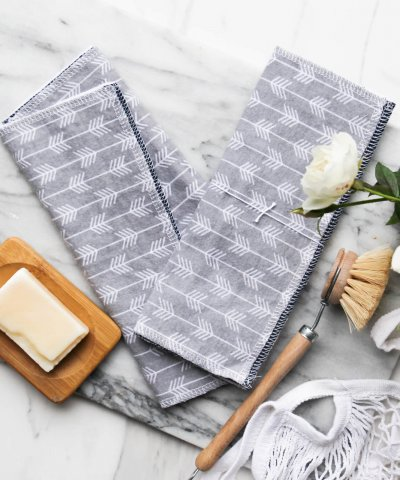 SUSTAINABLAH 'UNPAPER' TOWELS – REUSABLE TOWELS