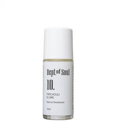 Dept of Soul - Number 10 Patchouli & Lime Deodorant