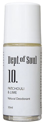 DEPT. OF SOUL ROLL ON DEODORANT – NO. 10 (PATCHOULI & LIME)