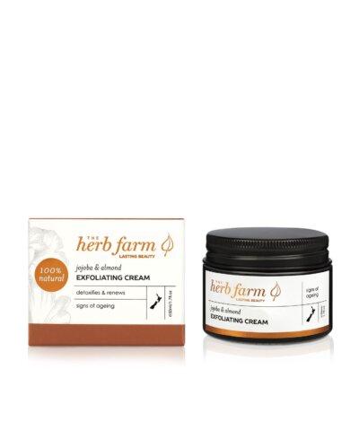 The Herb Farm Jojoba & Almond Exfoliating Cream