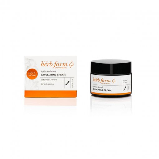 THE HERB FARM AGEING JOJOBA & ALMOND EXFOLIATING CREAM