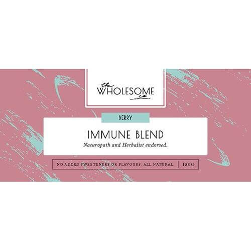 THE WHOLESOME CO – BERRY IMMUNE BLEND