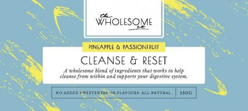 THE WHOLESOME CO HEALTH  BLEND – PINEAPPLE & PASSIONFRUIT CLEANSE & RESET