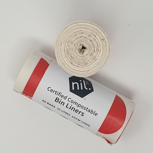 Nil Compostable Bin Liners - Red