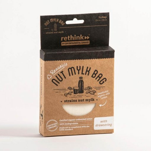 Rethink nut mylk bag