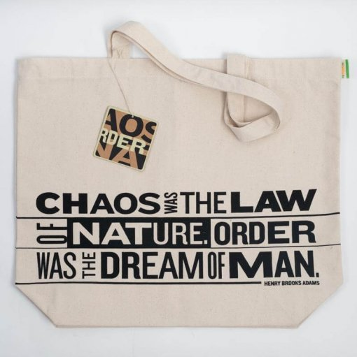 rethink canvas bag chaos