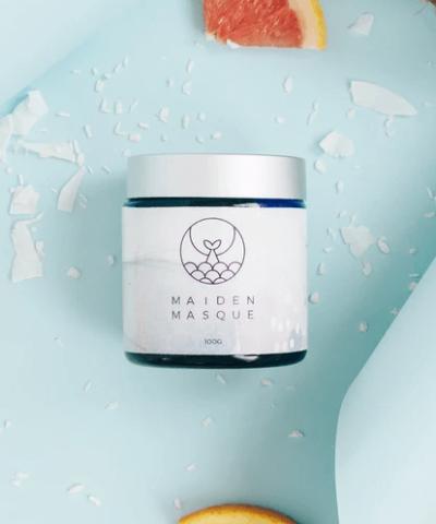 Natural hair treatment masque