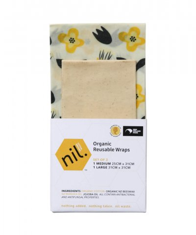 NIL ORGANIC BEESWAX REUSABLE WRAPS