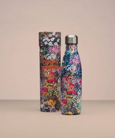 CHUNKY INSULATED STAINLESS STEEL DRINK BOTTLE – IT'S A STRANGE WORLD BY CARMEL VAN DER HOEVEN