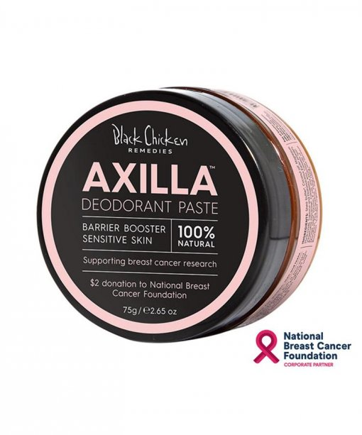 LIMITED PINK EDITION – BLACK CHICKEN REMEDIES AXILLA DEODORANT PASTE *BARRIER BOOSTER FOR SENSITIVE SKIN*