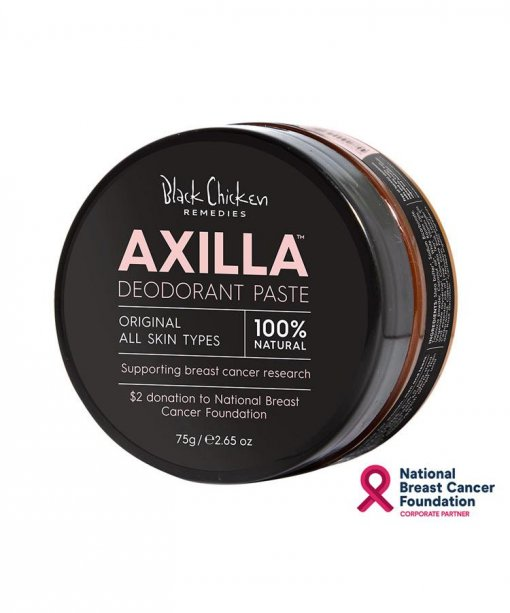 LIMITED PINK EDITION- BLACK CHICKEN REMEDIES AXILLA NATURAL DEODORANT PASTE ORIGINAL