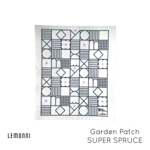 The Green Collective Biodegradable Dish Cloth - Super Spruce Garden Patch
