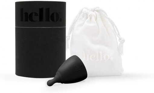 Hello Cup small - medium black