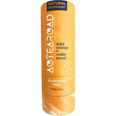 Aotearoad Natural Deodorant Sensitive - Wild Orange & Cedarwood