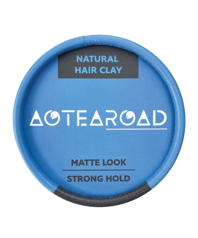 Aotearoad Strong Hold Hair Clay Vanilla