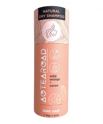 Aotearoad Natural Dry Shampoo Wild Orange Cacao