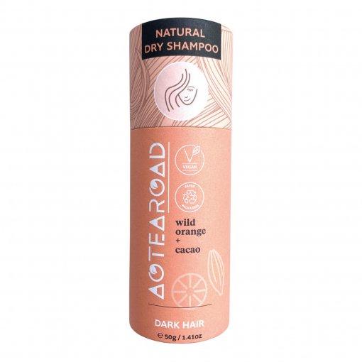 Aotearoad Natural Dry Shampoo Wild Orange Cacao