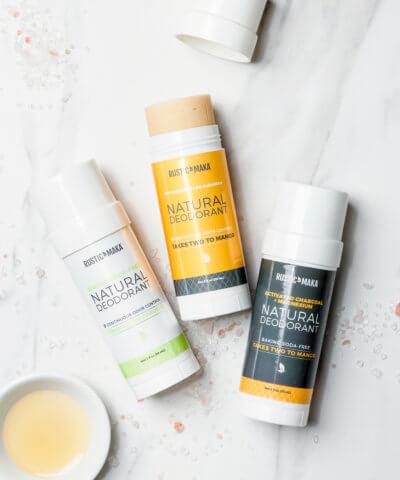 Rustic Maka Natural Deodorant