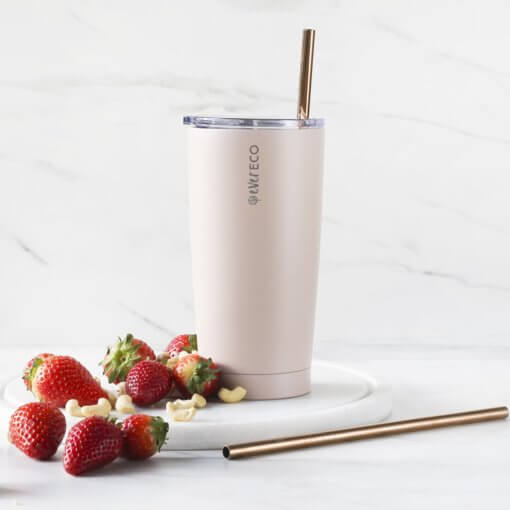 Ever Eco large insulated tumbler rose