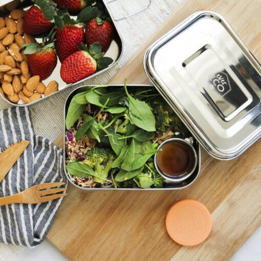 EVER ECO STAINLESS STEEL MINI CONTAINERS – PACK OF 3