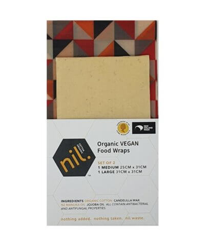 Nil Organic Vegan Reusable Food Wraps - Tukutuku
