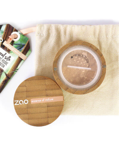 Zao Refillable Loose Mineral Silk Foundation