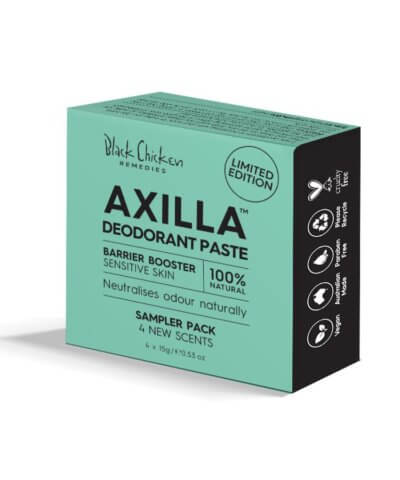 Black Chicken Remedies Axilla Barrier Booster Sampler Pack