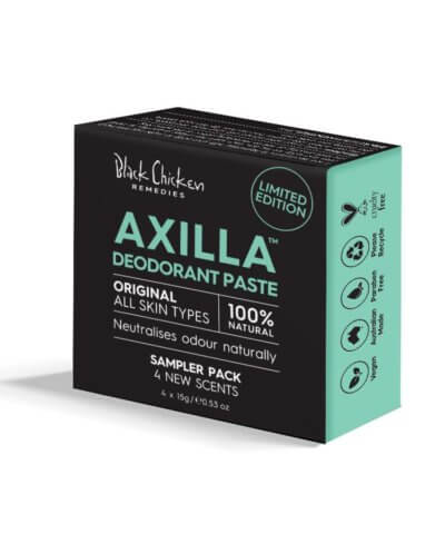 Black Chicken Remedies Axilla Natural Deodorant Original Sampler Pack