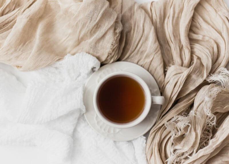 Self care cup of tea