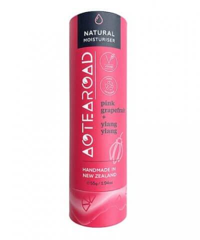 Aotearoad Natural Body Moisturiser Stick - Pink Grapefruit + Ylang Ylang