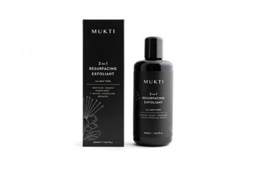 Mukti Organics 2 in 1 resurfacing exfoliant