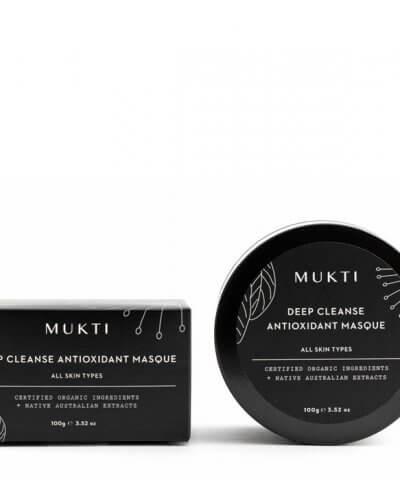 Mukti Organics Deep Cleanse Antioxidant Masque