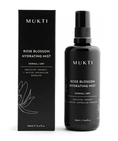 Mukti Organics Rose Blossom Hydrating Mist