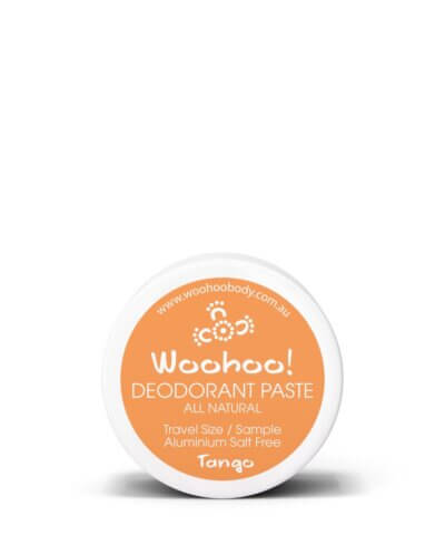 Woohoo Natural Deodorant - Tango Sensitive - 10g