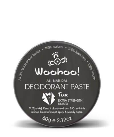 Woohoo Tux Natural Deodorant 60g