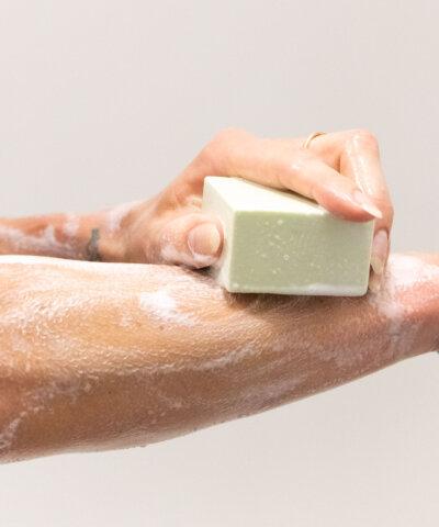 Ethique - Lime & Lemongrass Cream Body Cleanser Bar