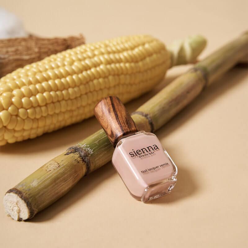 Sienna's plant-based nail polish