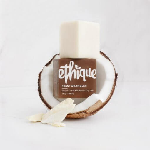 Ethique Frizz Wrangler - Solid Shampoo for Dry or Frizzy Hair