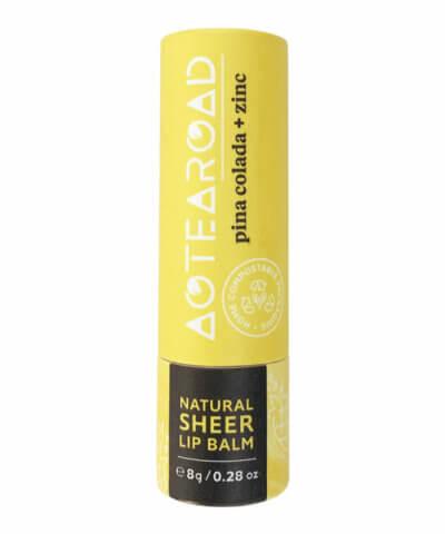 Aotearoad Organic Lip Balm - Pina Colada + Zinc