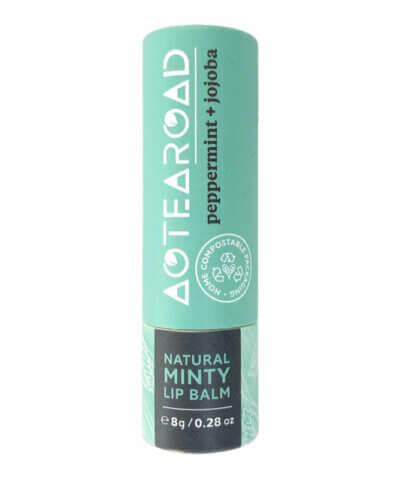 Aotearoad Organic Lip Balm - Peppermint & Jojoba