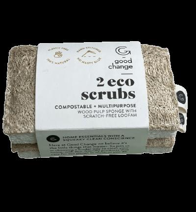 Good Change Eco Scrubs x 2